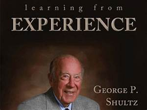 Marines' Memorial Club Presents GEORGE P. SHULTZ | Books ...
