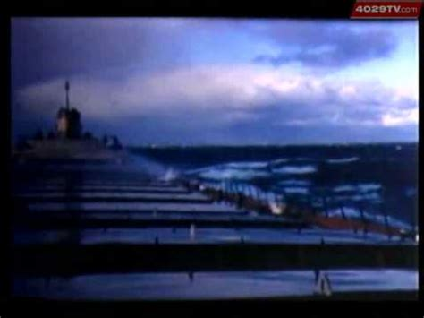 weather history sinking of the edmund fitzgerald youtube
