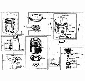 Samsung Washer Parts Diagram