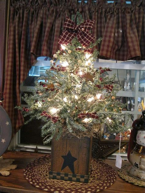 country christmas tree 1000 ideas about primitive christmas tree on pinterest primitive christmas prim christmas