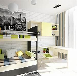 Mur Brique Blanc : mur en brique pour chambre enfant ~ Mglfilm.com Idées de Décoration