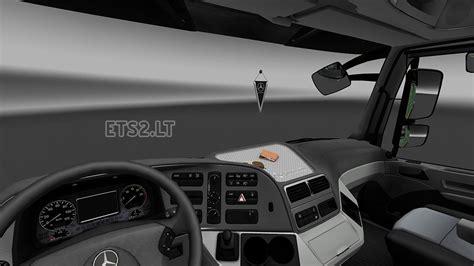 mercedes actros mp3 interior exterior rework ets 2 mods