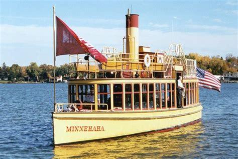 Boat Rides On Lake Minnetonka Mn by Steamboat Minnehaha On Lake Minnetonka Minnesota