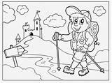 Coloring Hiking Pages Hike Trail Oregon Drawing Excited Hiker Colouring Children Trails Prodigy Getting Map Printable Hikes Hikeswithtykes Ecplise Sketch sketch template