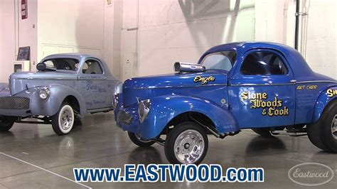what to cook cing stone woods cook willys drag race cars at hot rod 65th