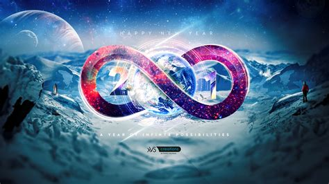 2018 Year Of Infinite Possibilities Wallpapers Hd