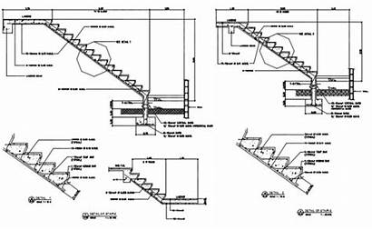 Section Stair Dwg