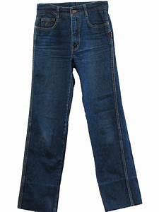 Retro 80s Pants (Jordache)  80s -Jordache- Mens blue cotton denim five pocket style straight ...