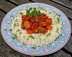 Leckere Rezepte Mit Putenfleisch : curry putenfleisch mit reis rezept mit bild von ~ Lizthompson.info Haus und Dekorationen