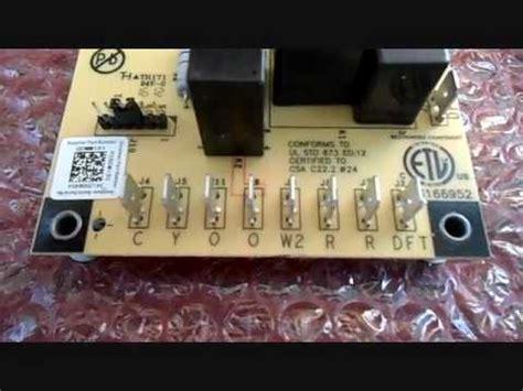 hvac controls pcbm defrost controller youtube