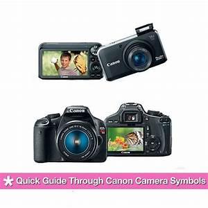 Quick Guide Through Canon Camera Symbols