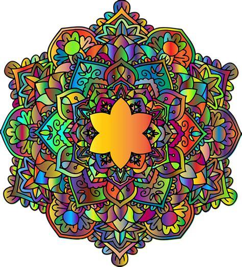 photo imagine mandala floral mandala art coloring