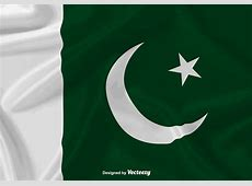 Waving Flag Of Pakistan Vector Background Download Free