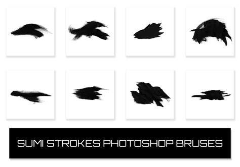 sumi strokes  photoshop brushes  brusheezy
