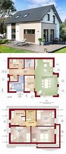 Grundriss Haus Mit Erker : einfamilienhaus neubau klassisch mit satteldach architektur erker anbau haus bauen grundriss ~ Indierocktalk.com Haus und Dekorationen