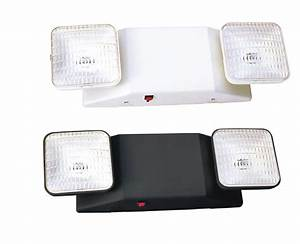 Emergency battery flood lights : Mule lighting emergency exit signs