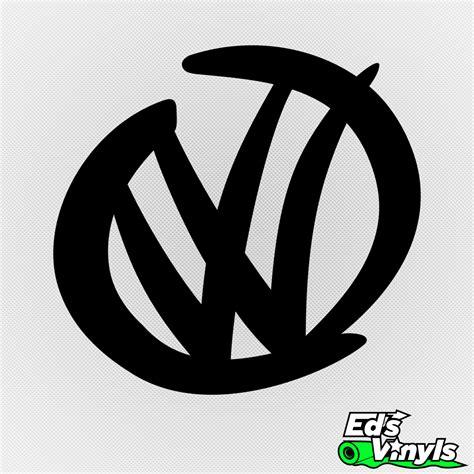 first volkswagen logo volkswagen logo modelo 2 edsvinyls