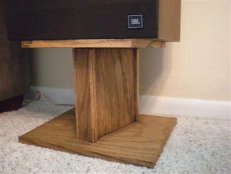 speaker stands  wookie  lumberjockscom woodworking
