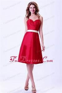 Red Bridesmaid Dresses,Bright Red Bridesmaid Dresses