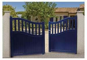 Portail En Aluminium : portail alu battant et coulissant heloe roy ~ Melissatoandfro.com Idées de Décoration