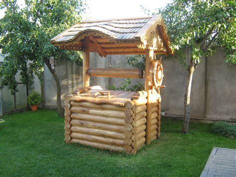charmant puits de decoration exterieur 12 agencement d 233 co jardin puit en bois atlub