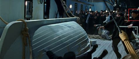 Titanic Rose Jumps Off Boat by Seaman With Axe From 1997 Film Titanic Wiki Fandom