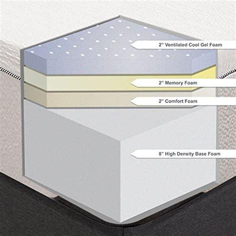 cool gel memory foam mattress classic brands cool gel ultimate 14 inch plush gel memory