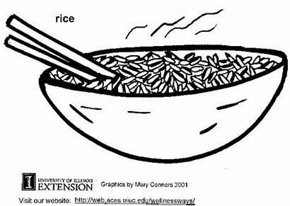 Rice Coloring Pages Edupics