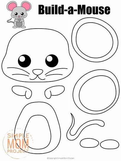 Craft Mouse Simple Printable Toddlers Project Mom