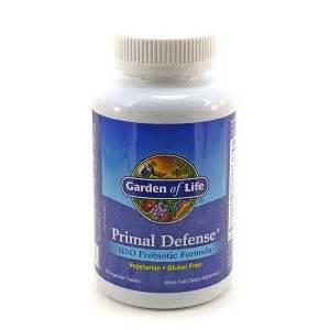 garden of primal defense primal defense probiotics by garden of 180 caplets