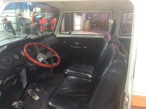 volkswagen pickup interior 1969 volkswagen custom pickup 181051