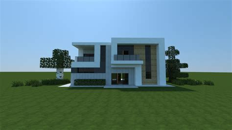 small modern house  image minecraft reddit