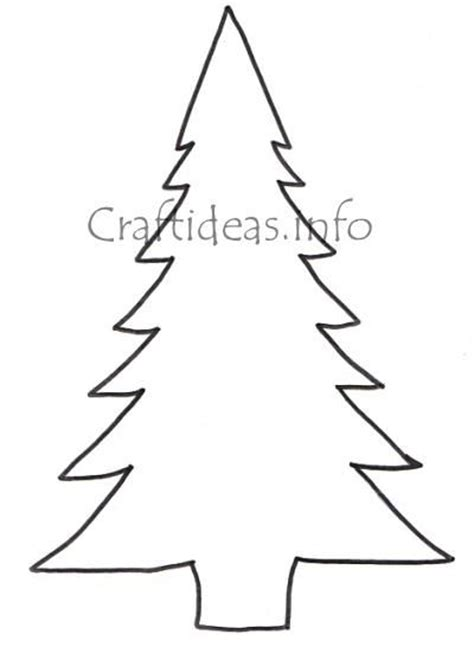 christmas tree patterns to cut out free cut out patterns craftideas info free craft pattern large tree