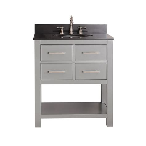 single sink bathroom vanity  chilled gray