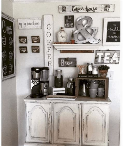 And that is precisely why this kitchen wall decor idea you will love! Coffee Bar Wall Decor in 2020 | Coffee bar home, Home ...