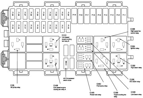 There Any Place Can Get Fuse Box Layout Diagram