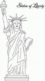 Coloring Liberty Bell Printable Popular sketch template