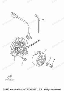 Yamaha Motorcycle 2005 Oem Parts Diagram For Generator