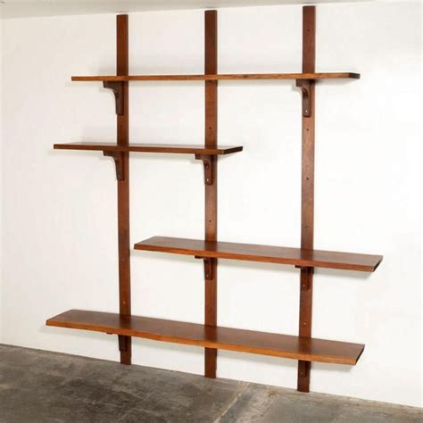 george nakashima wall mounted shelf   shelved