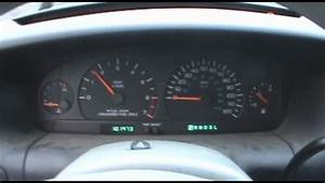1998 Dodge Caravan Dash View  Cold Start   U0026 Exhaust View