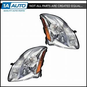 Xenon Hid Headlights Headlamps W   Ballasts Lh  U0026 Rh Pair