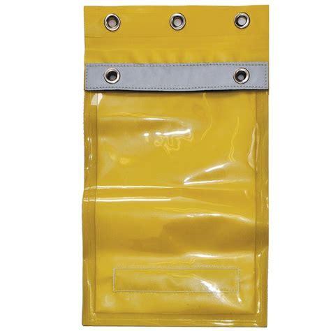 Master Lock® Document Pouch / Permit Holder PH1