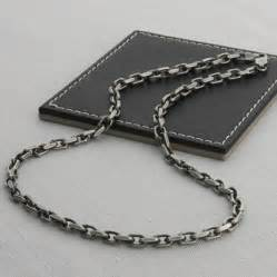 3rd wedding anniversary gifts s sterling silver anchor chain style necklace hurleyburley