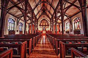 St. Mark's Episcopal Church | An interior shot of St. Mark ...