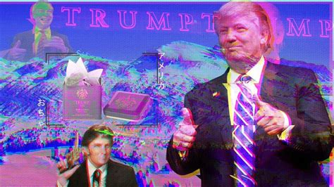 Donald Trump Desktop Wallpaper Trumpwave And Fashwave Are Just The Latest Disturbing Exles Of The Far Right Appropriating