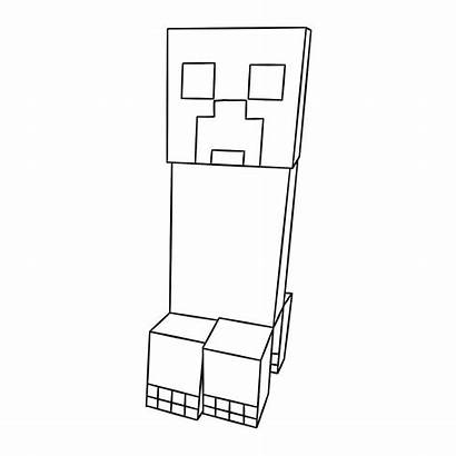 Minecraft Coloring Pages Creeper Printable Cool Colouring