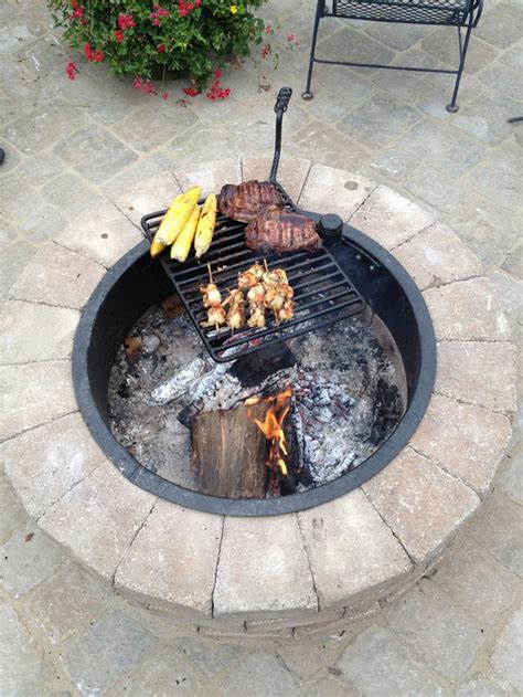 pit with grill build a pit with cooking grill in your backyard diy