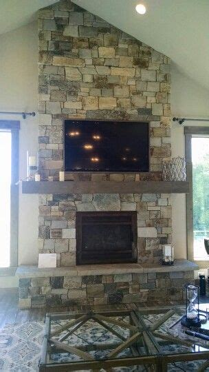 fireplace  tv  vaulted ceiling living room