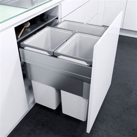 Bins For Kitchen Cupboards by The Best Built In Bins And Recyclers For Kitchen Cupboards