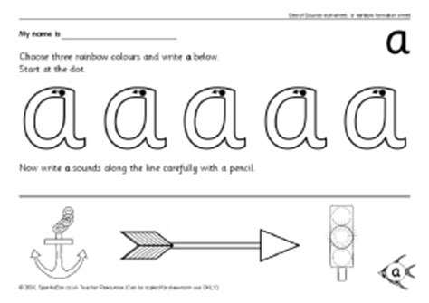 letter formation alphabet worksheets  early years